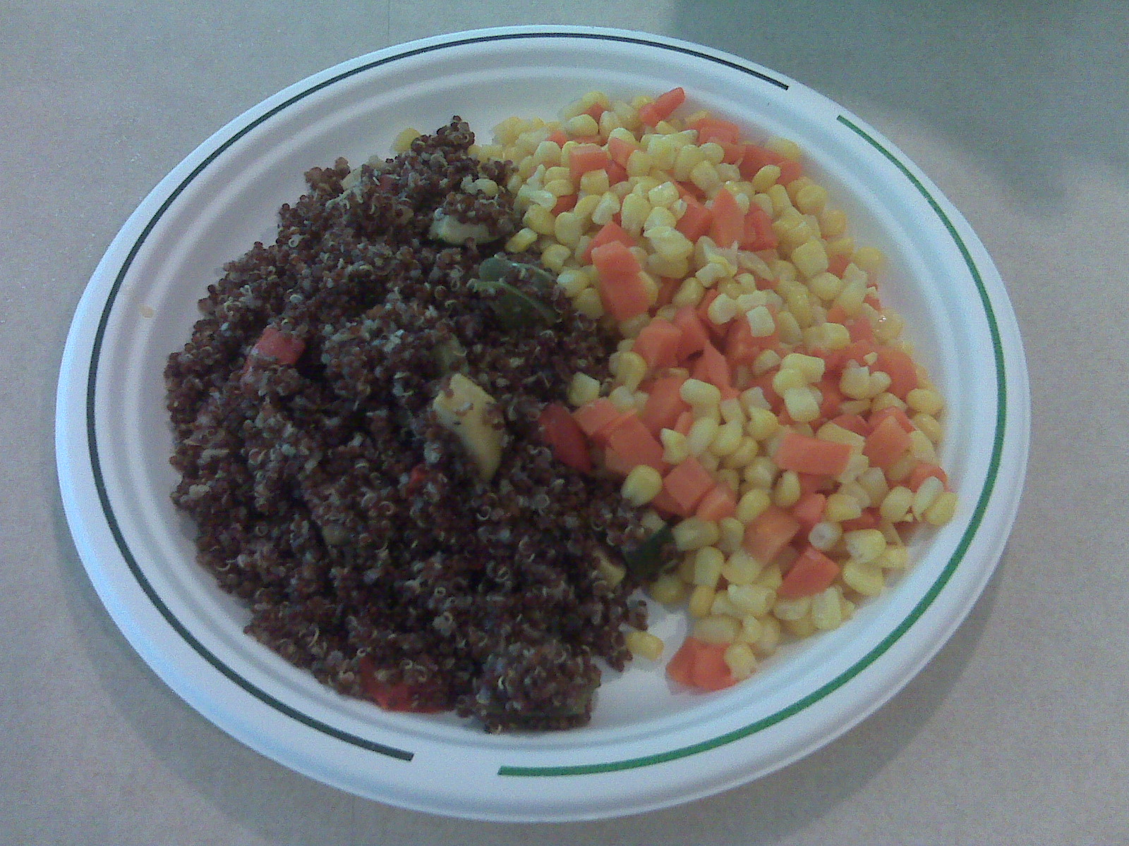 Bolivian red quinoa